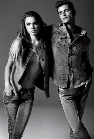 coppia di modelli